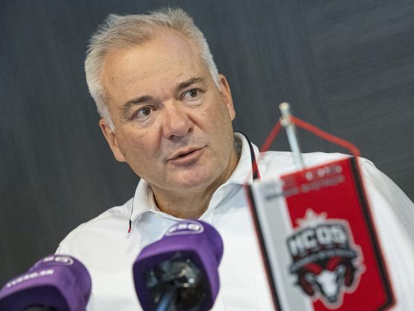 Prezident HC '05 iClinic Banská Bystrica Juraj Koval