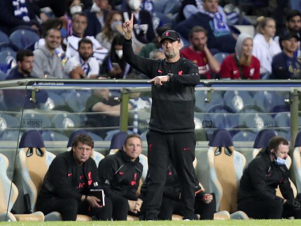 Tréner Jürgen Klopp