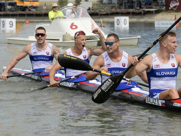Samuel Baláž, Erik Vlček, Csaba Zalka a Adam Botek