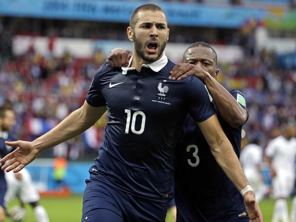 Karim Benzema v drese Francúzska