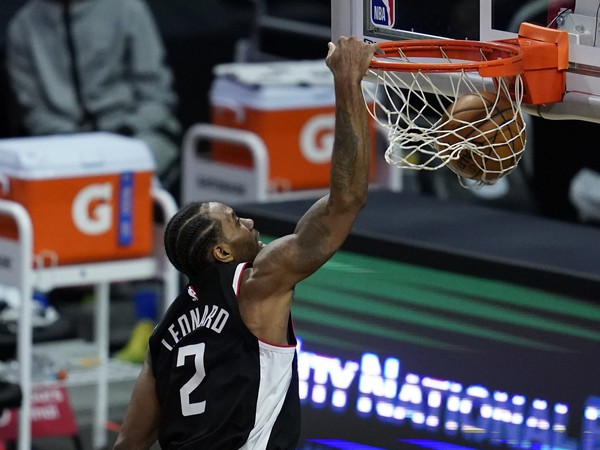 Útočník Los Angeles Clippers Kawhi Leonard