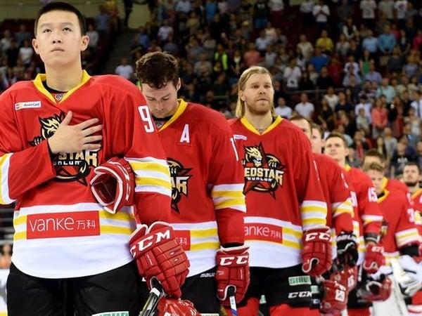 Hokejisti čínskeho nováčika HC Kunlun Red Star