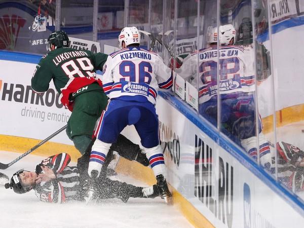 Arťem Lukojanov a Andrej Kuzmenko