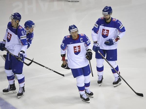 Na snímke Ladislav Nagy (Slovensko) v zápase základnej A-skupiny Slovensko – Dánsko