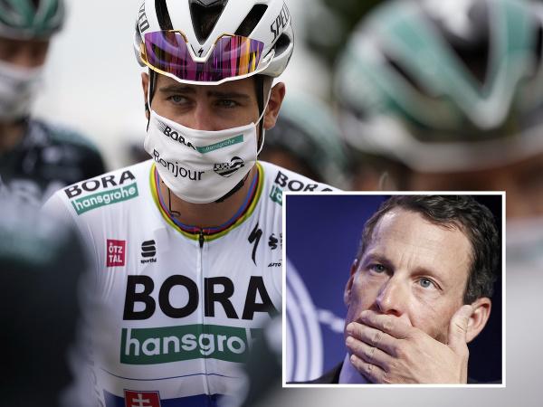 Lance Armstrong si rýpol do Petra Sagana