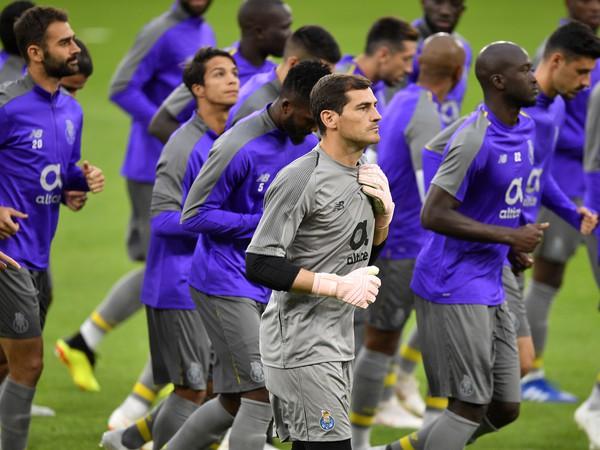 Brankár Porta Iker Casillas