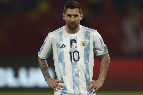 Lionel Messi v drese argentínskej reprezentácie