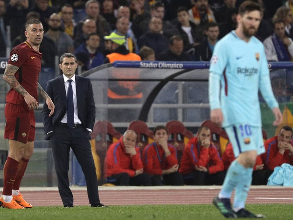 Ernesto Valverde a Lionel Messi