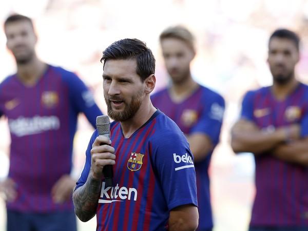 Lionel Messi v predzápasovom príhovore divákom