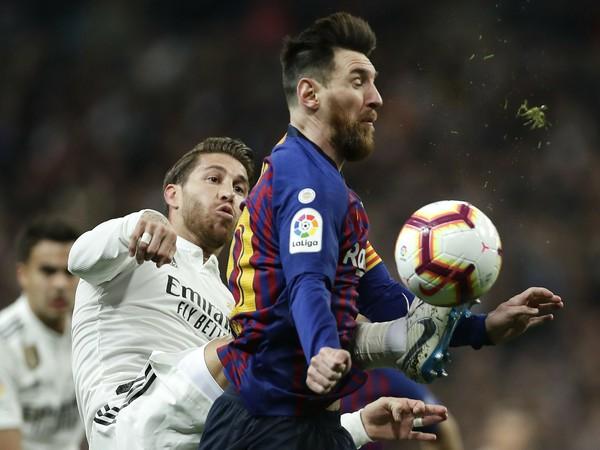 Sergio Ramos a Lionel Messi