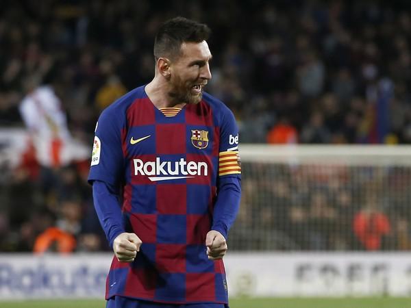 Lionel Messi a jeho gólová radosť