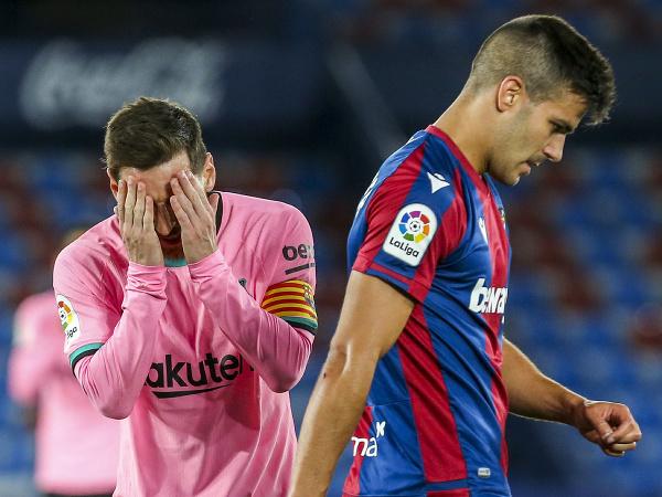 Sklamaná reakcia Lionela Messiho