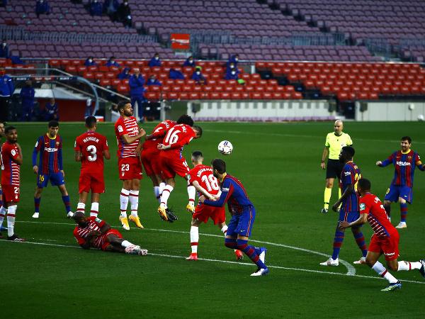 Prázdne tribúny počas zápasu španielskej ligy