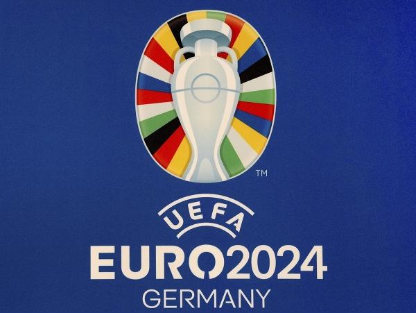 Na snímke oficiálne logo majstrovstiev Európy vo futbale 2024