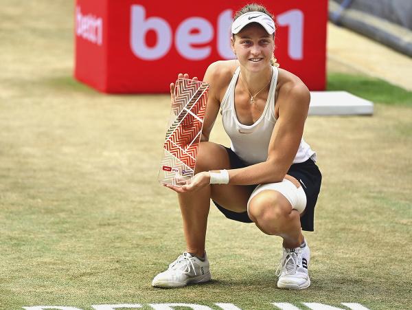 Na snímke ruská kvalifikantka Ľudmila Samsonovová