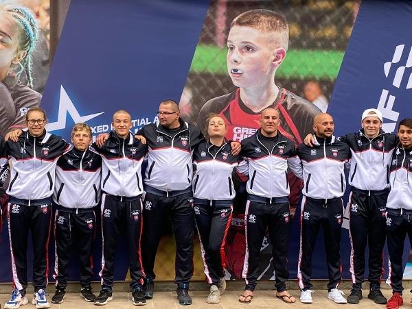 Slovenská juniorská reprezentácia s