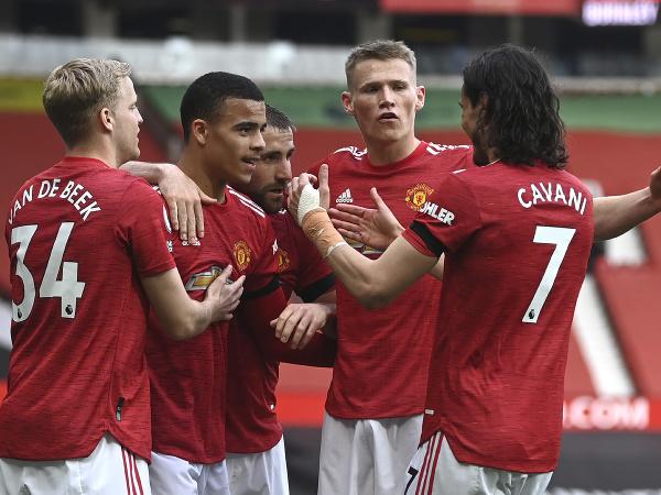 Radosť futbalistov Manchestru United