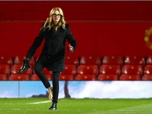 Julia Robertsová na legendárnom Old Trafforde