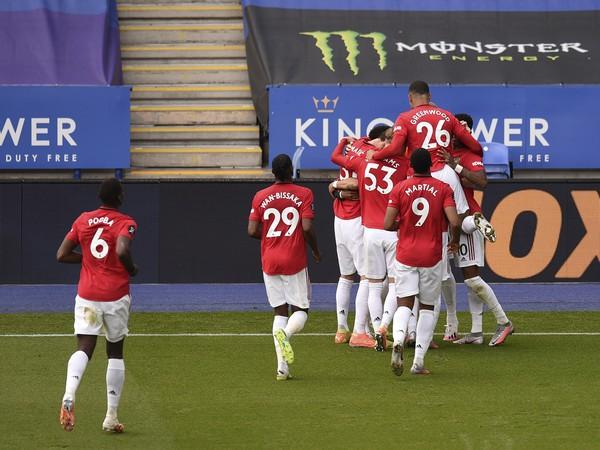 Gólové oslavy futbalistov Manchestru United