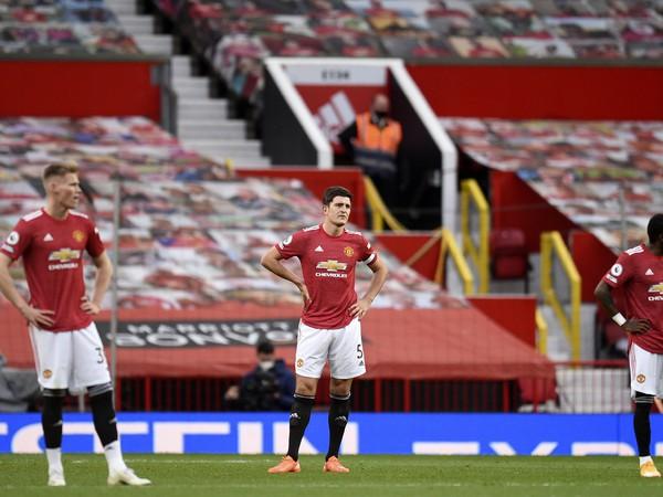 Harry Maguire a frustrovaní hráči Manchestru United