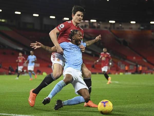 Raheem Sterling a Harry Maguire