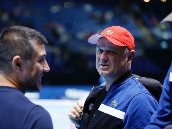 Tréner srbského tenistu Novaka Djokoviča  Marián Vajda