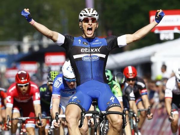 Marcel Kittel sa stal víťazom druhej etapy Gira
