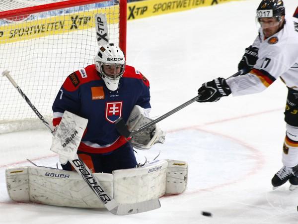 Marek Čiliak v bránke reprezentácie