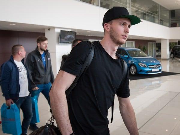 Martin Marinčin po prílete slovenskej hokejovej výpravy