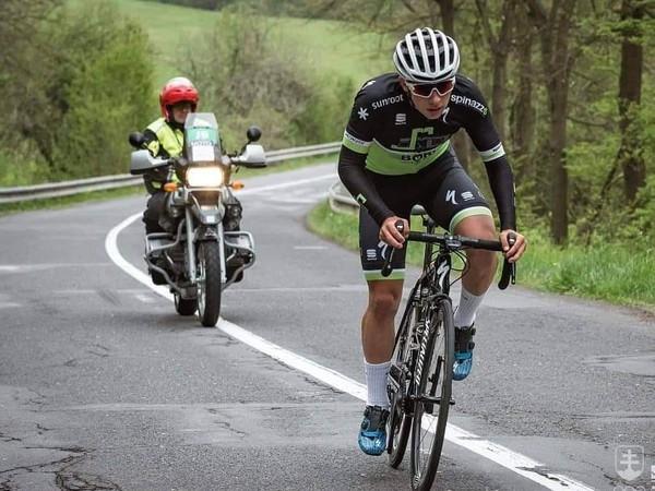 Slovenský cyklista Martin Svrček