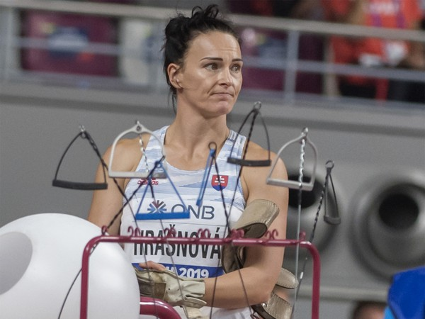Martina Hrašnová počas finále
