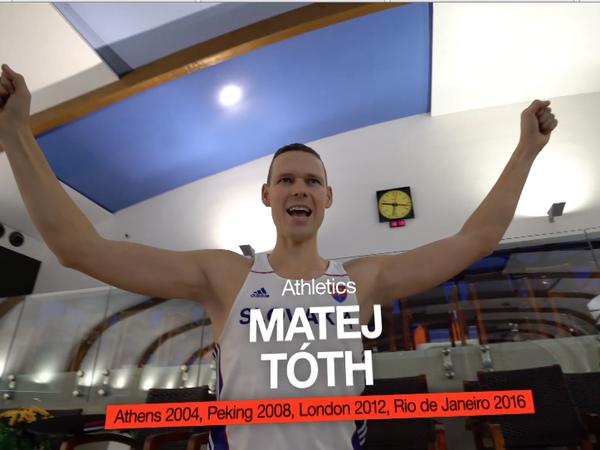 Matej Tóth v Mannequin Challenge