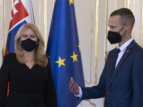 Prezidentka SR Zuzana Čaputová prijala Mateja Tótha pri príležitosti ukončenia jeho aktívnej športovej kariéry