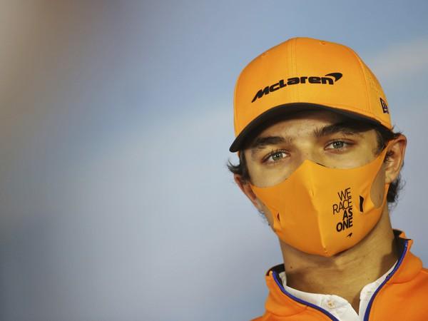 Jazdec tímu McLaren Lando Norris