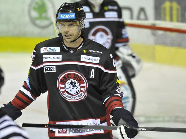 Michal Handzuš momentálne z HC ´05 iClinic Banská Bystrica