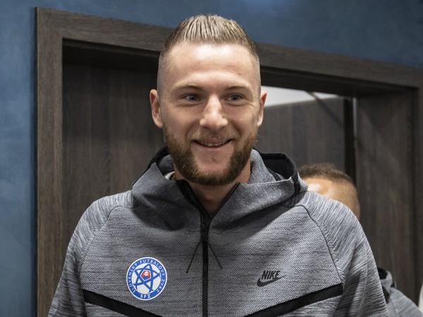Milan Škriniar na reprezentačnom zraze