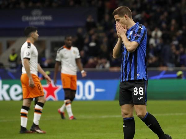 Mario Pašalić v súboji Valencie s Atalantou