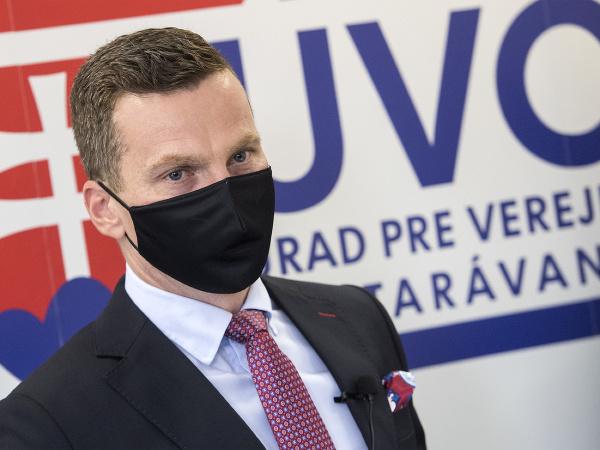 Na snímke predseda Úradu pre verejné obstarávanie Miroslav Hlivák