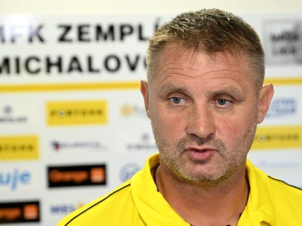 Tréner A-mužstva MFK Zemplín Michalovce Miroslav Nemec