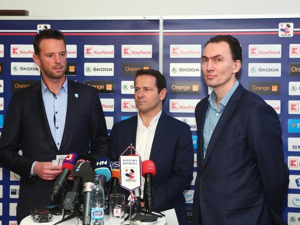 Richard Lintner, Martin Kohút a Miroslav Šatan