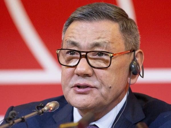 Prezident AIBA Gafur Rakhimov