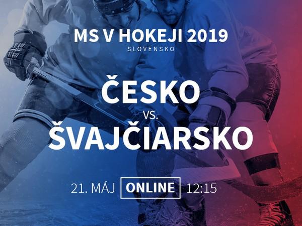 MS v hokeji: Česko - Švajčiarsko