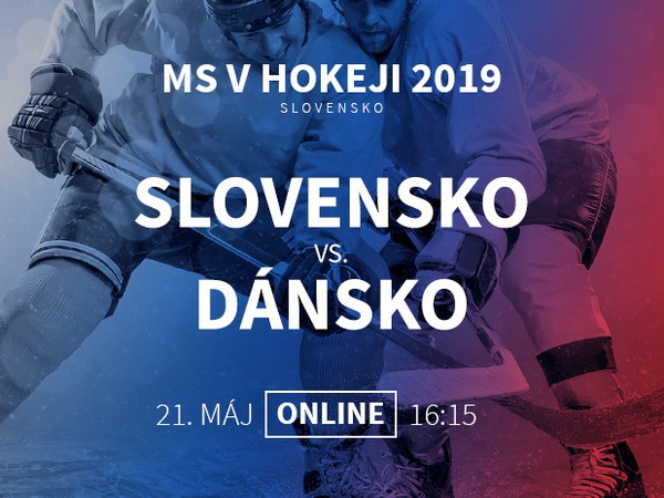 MS v hokeji: Slovensko - Dánsko