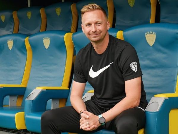 Nový tréner MŠK Žilina Peter Černák