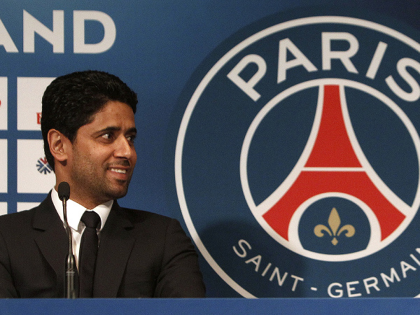 Prezident futbalového klubu Paríž St. Germain Nasser Al-Khelaifi