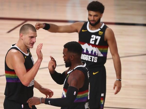 Basketbalisti Denver Nuggets