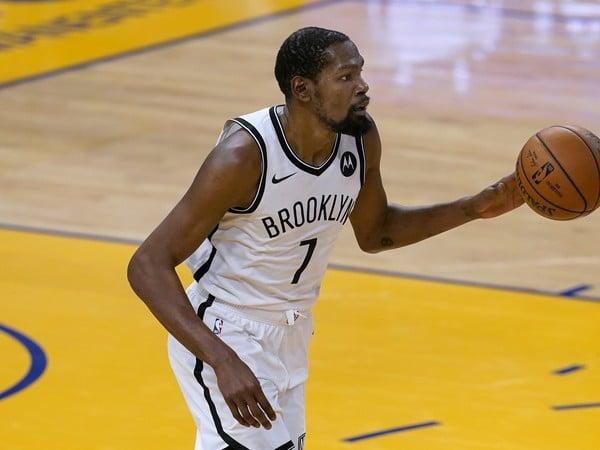 Kevin Durant v drese Brooklynu Nets
