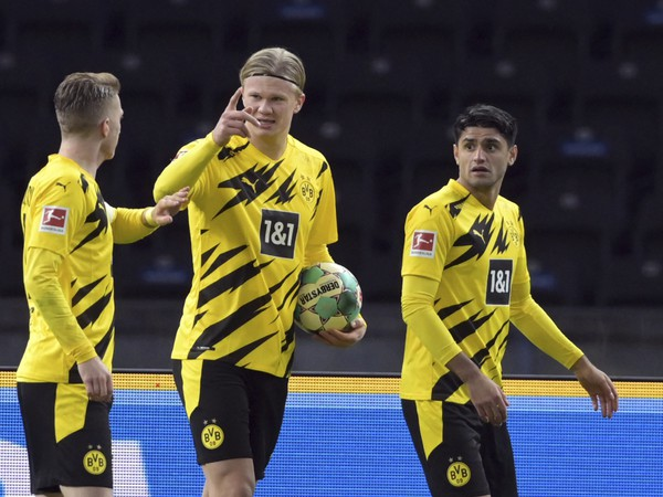 Erling Haaland a jeho gólové oslavy so spoluhráčmi
