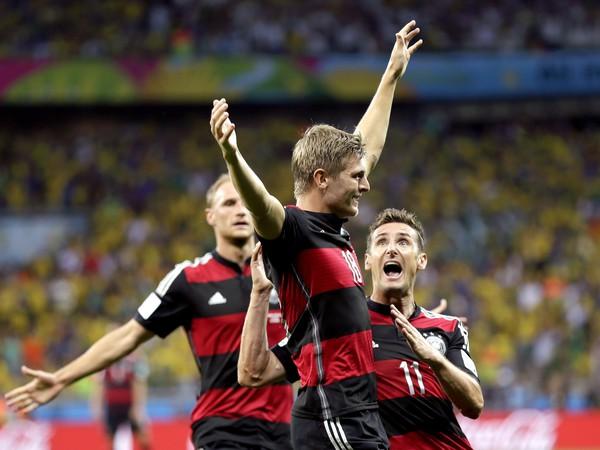 Radosť Toniho Kroosa z gólu
