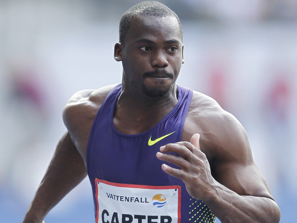 Jamajský šprintér Nesta Carter